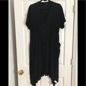 Torrid Sharkbite button down Dress
